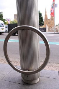 Bike Ring for Smartpole – City of Sydney Council